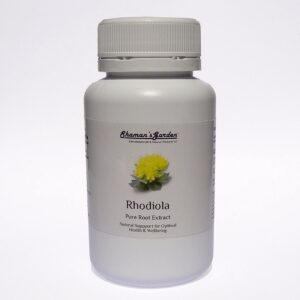 Rhodiola rosea extract powder and capsules