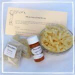 Reusable Beeswax Food Wrap Ingredients