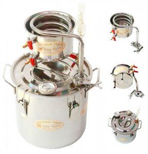 Essential oil, Alcohol & Water distiller